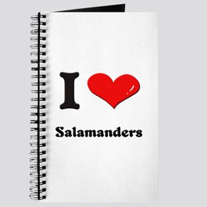 I love salamanders Journal