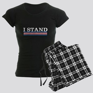 I Stand Women's Dark Pajamas