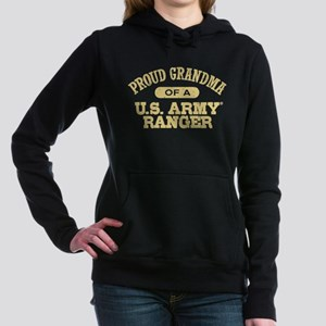 Army Ranger Grandma Women's Hooded Sweatshirt