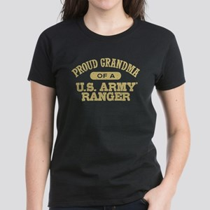 Army Ranger Grandma Women's Dark T-Shirt