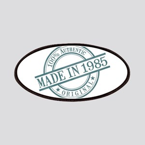 Made in 1985 Patches