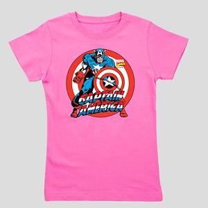 Captain America Girl's Tee