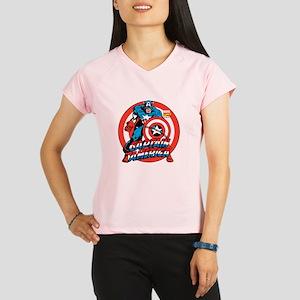 Captain America Performance Dry T-Shirt