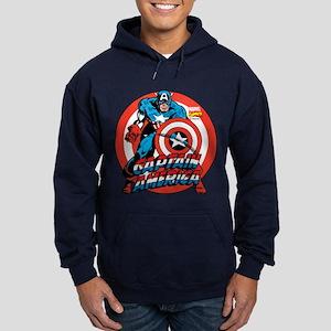 Captain America Hoodie (dark)