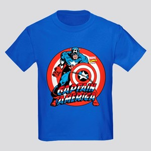Captain America Kids Dark T-Shirt