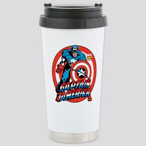 Captain America Stainless Steel Travel Mug