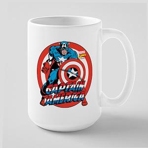 Captain America Large Mug