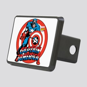 Captain America Rectangular Hitch Cover