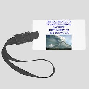volcano god Luggage Tag