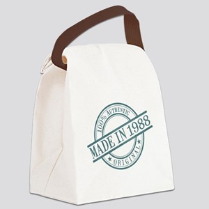 Made in 1988 Canvas Lunch Bag