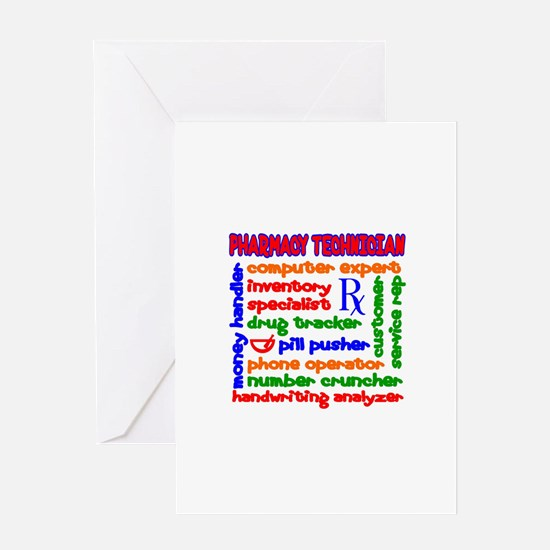 Unique Pharmacy rx. Greeting Card