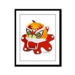 My Dragon Framed Panel Print