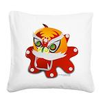My Dragon Square Canvas Pillow