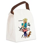 Busy Mom Canvas Lunch Bag