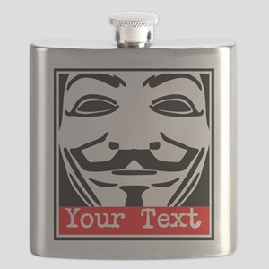 Custom Guy Fawkes Flask