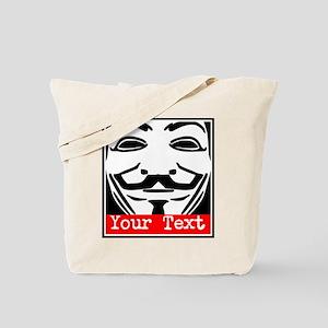 Custom Guy Fawkes Tote Bag