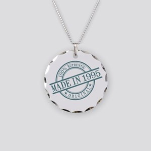 Made in 1995 Necklace Circle Charm