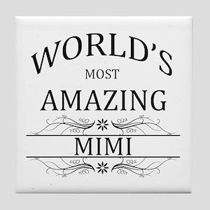 World's Most Amazing Mimi Tile Coaster