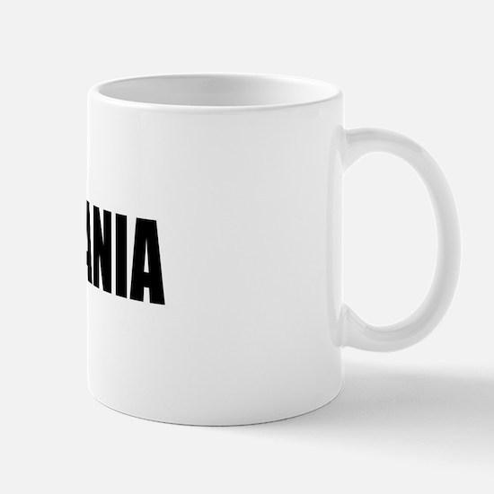 I Love Lithuania Mug
