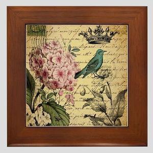 paris hydrangea butterfly french botanical art Fra