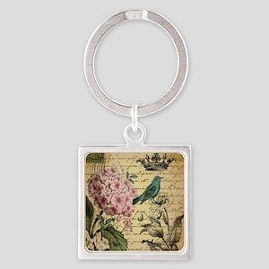 paris hydrangea butterfly french botanical art Key