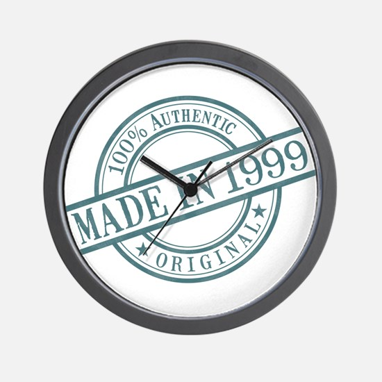 Made in 1999 Wall Clock