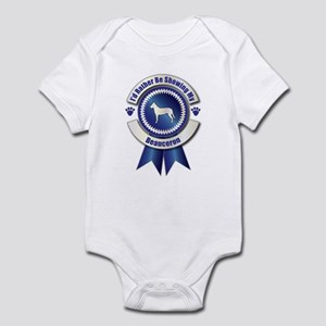 Showing Beauceron Infant Bodysuit