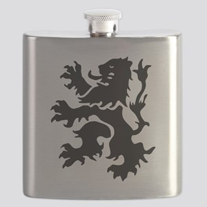 Netherlands Lion Flask