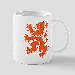 Netherlands Lion Mugs
