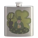 St Patricks Day Man with Beer Flask