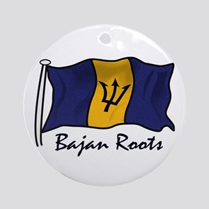 Bajan roots Ornament (Round)