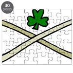 Shamrock and Pipes Puzzle