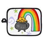 Rainbow with Crock of Gold Potholder