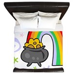 Rainbow with Crock of Gold King Duvet