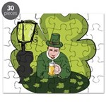 St Patricks Day Man with Beer Puzzle
