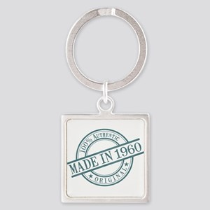 Made in 1960 Square Keychain
