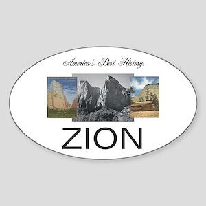 ABH Zion Sticker (Oval)