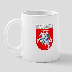 Lithuania Coat of Arms (Dark) Mug