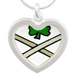 Shamrock and Pipes Necklaces