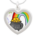 Rainbow with Crock of Gold Necklaces