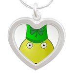 Smiley with Shamrock Necklaces
