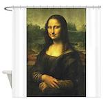 Mona_Lisa Shower Curtain