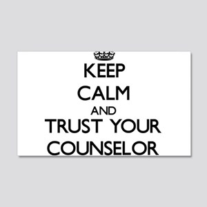 Keep Calm and Trust Your Counselor Wall Decal