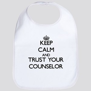 Keep Calm and Trust Your Counselor Bib