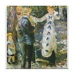 Auguste_Renoir_-_La_Balan__oire Tile Coaster