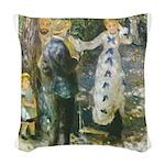 Auguste_Renoir_-_La_Balan__oire Woven Throw Pi