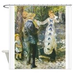 Auguste_Renoir_-_La_Balan__oire Shower Curtain