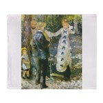 Auguste_Renoir_-_La_Balan__oire Throw Blanket