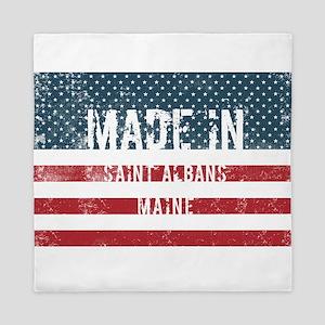 Made in Saint Albans, Maine Queen Duvet