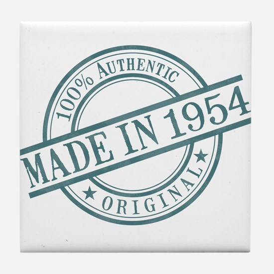 Made in 1954 Tile Coaster